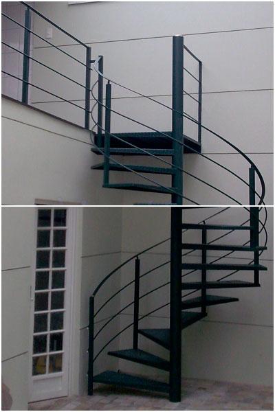 Escada de Ferro em Santo André